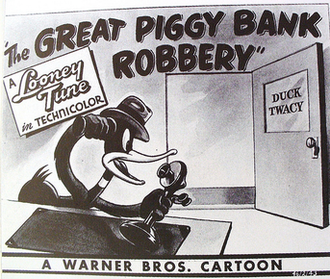 The Great Piggy Bank Robbery - Lobby card