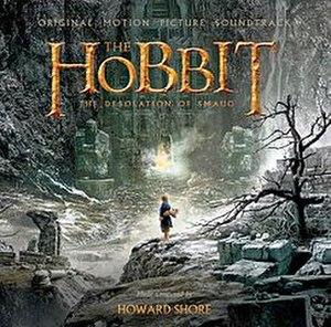 Music of The Hobbit film series - Image: The Hobbit 2 CD Cover