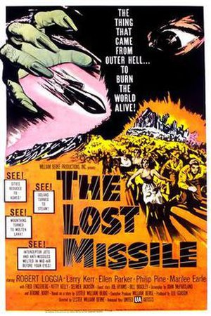 The Lost Missile - Theatrical release poster