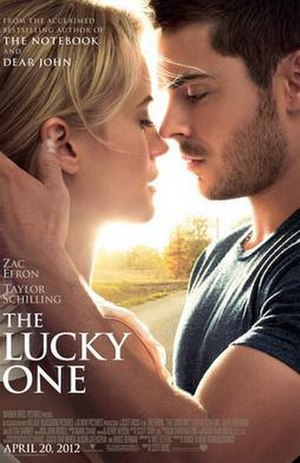 The Lucky One (film) - Theatrical release poster