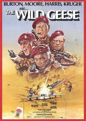 The Wild Geese - Original film poster by Arnaldo Putzu