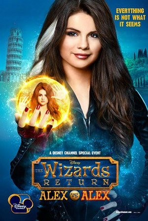 The Wizards Return: Alex vs. Alex - Promotional poster