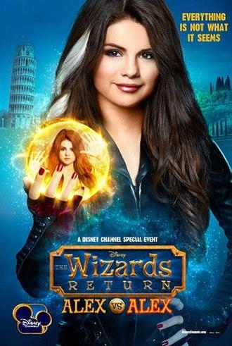The Wizards Return: Alex vs. Alex - Promotional poster