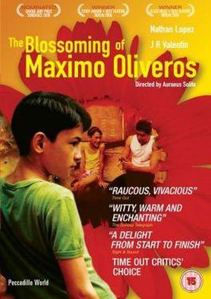 The Blossoming of Maximo Oliveros - Official poster