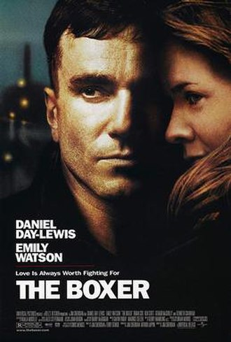 The Boxer (1997 film) - Theatrical release poster