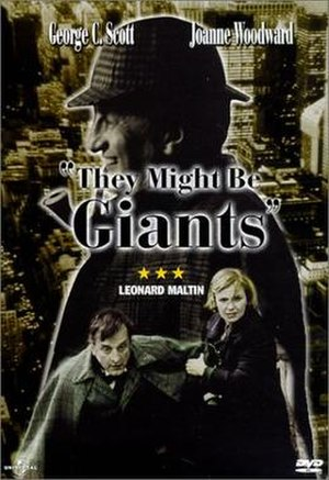 They Might Be Giants (film) - DVD cover