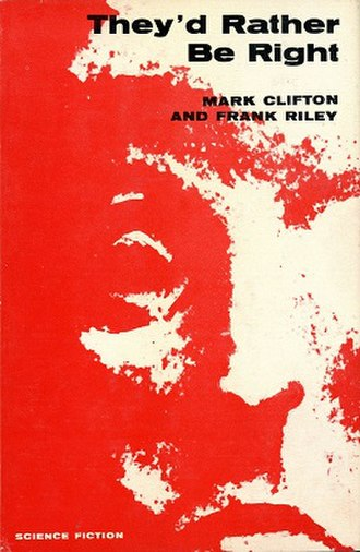 They'd Rather Be Right - Dust-jacket of the first edition