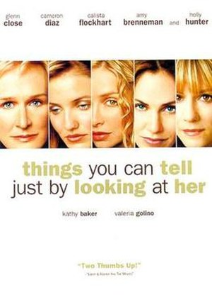 Things You Can Tell Just by Looking at Her - Image: Things You movie poster