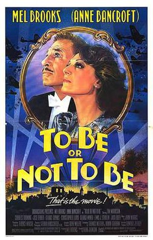 Film poster forTo Be or Not to Be (1983 film)