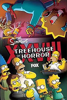 Treehouse of Horror XXVIII 2017 episode of The Simpsons