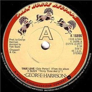 True Love (Cole Porter song) - Image: True love gh