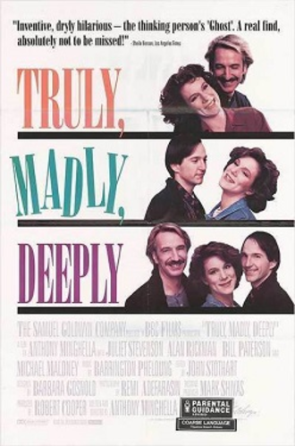Truly, Madly, Deeply - Reproduction poster
