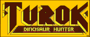 Turok - Image: Turok comic first issue logo