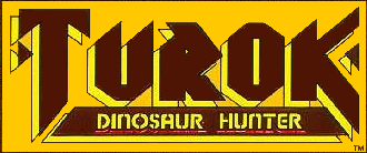 Turok - Image: Turok comic first issue logo