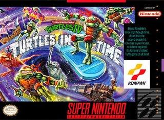1991 Teenage Mutant Ninja Turtles video game