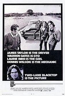 <i>Two-Lane Blacktop</i> 1971 film by Monte Hellman
