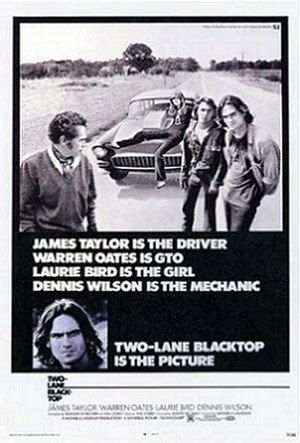 Two-Lane Blacktop - Theatrical poster