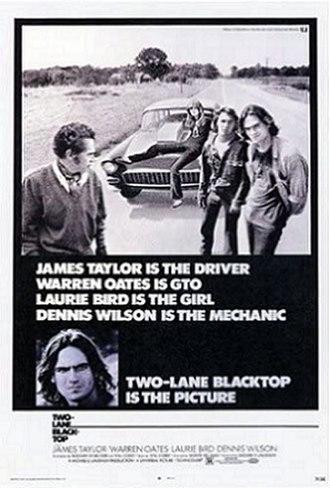 Two-Lane Blacktop - Theatrical poster