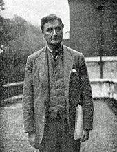 Элегантно одетый европейский мужчина смотрит в камеру
