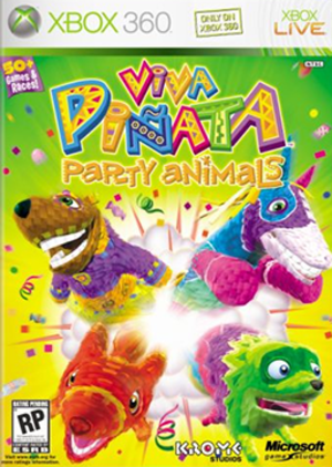 Viva Piñata: Party Animals - Image: Viva Piñata Party Animals Coverart