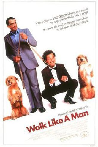Walk Like a Man (1987 film) - Theatrical release poster