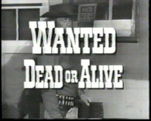 Wanted Dead or Alive (TV series) - Title card