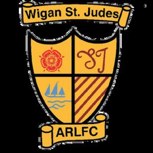 Wigan St Judes - Image: Wigan St Judes Logo