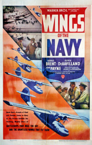 Wings of the Navy - 1939 Theatrical poster