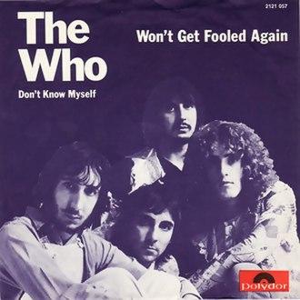 Won't Get Fooled Again - Image: Won't get fooled again