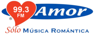 XHZAZ-FM - Logo as Amor 99.3, with the ACIR Amor format, used until 2017