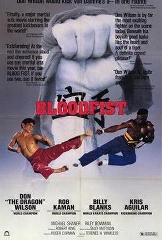 Bloodfist - Image: 1989 bloodfist poster 1