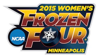 2015 NCAA National Collegiate Women's Ice Hockey Tournament - 2015 Women's Frozen Four logo