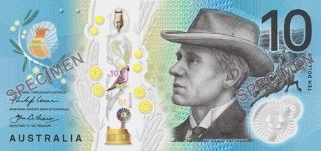 2017 Australian ten dollar note obverse