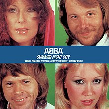 ABBA — Summer Night City (studio acapella)