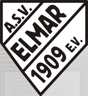 Schwarz-Weiß Alstaden - Historical logo of Alstader SV Elmer ca. 1934–62