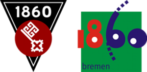 ATSV 1860 Bremen - Historical and current logos of ATSV 1860 Bremen