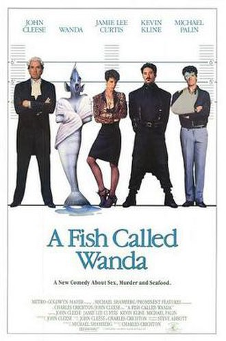 A Fish Called Wanda - US theatrical release poster