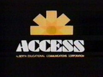 CTV Two Alberta - Access's logo from the 1970s