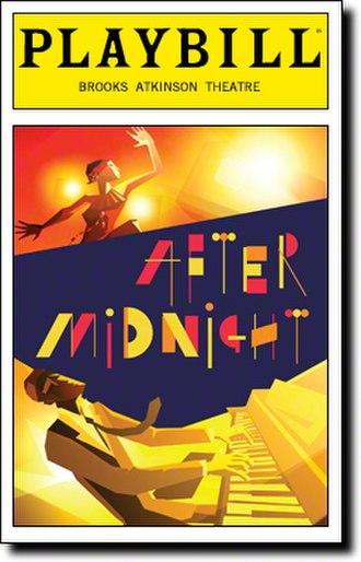 After Midnight (musical) - Opening Night Playbill
