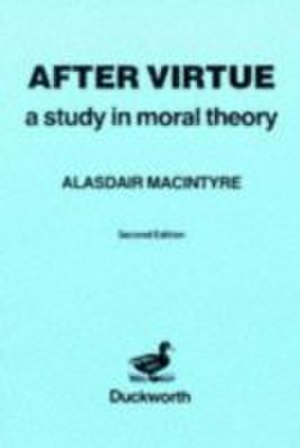 After Virtue - Cover of the first edition