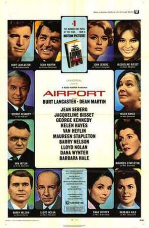 Airport (1970 film) - Theatrical release poster