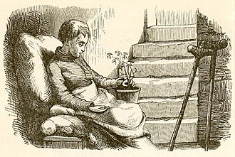 The Angel (fairy tale) - Illustration by Vilhelm Pedersen, Andersen's first illustrator