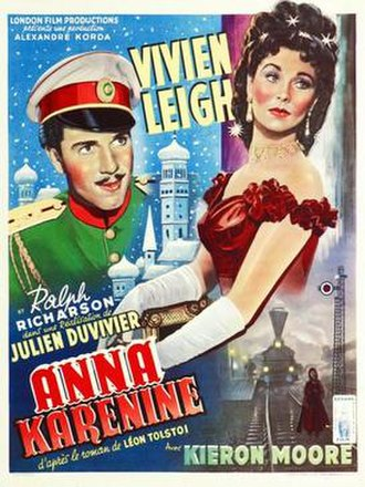 Anna Karenina (1948 film) - Theatrical release poster (France)