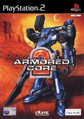 Armored Core 2 - European PlayStation 2 cover art