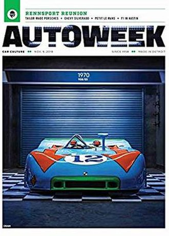 Autoweek - November 2018 cover of Autoweek