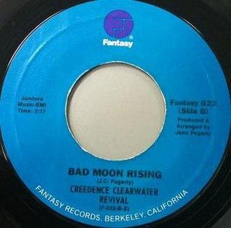 Bad Moon Rising - Image: Bad Moon Rising label