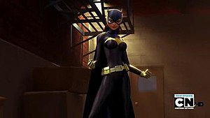Batgirl: Year One - Batgirl in the Batgirl fictional television from Batman: The Brave and the Bold
