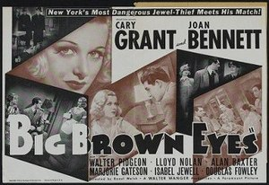 Big Brown Eyes - Theatrical release poster