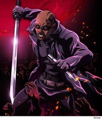 Blade (comics) - Marvel Anime: Blade