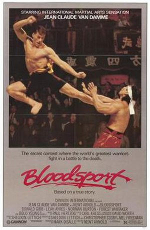 Bloodsport (film) - Theatrical release poster